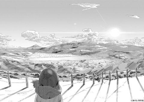 『ゆるキャン△』聖地 高ボッチ高原山頂付近(たかぼっちこうげんさんちょうふきん)