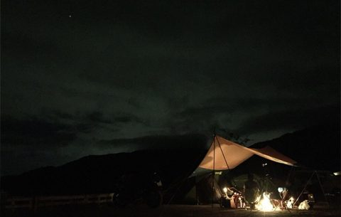 『ゆるキャン△』聖地「ほったらかしキャンプ場」