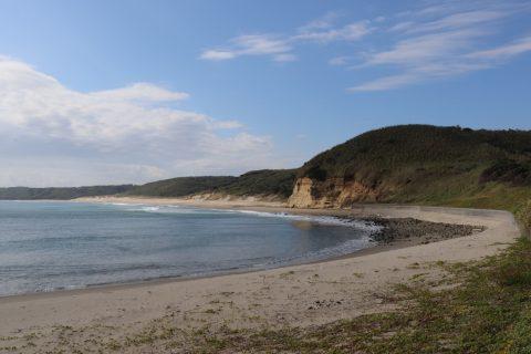 『秒速5センチメートル』中山海岸 写真