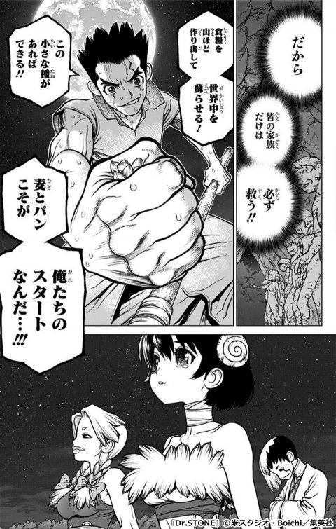 『Dr.STONE』のキャラクター 大木大樹(おおき・たいじゅ)