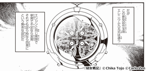 『幼女戦記』演算宝珠 エレニウム九五式